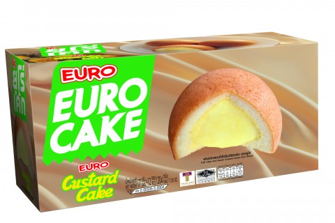 EURO Brand Puff Cake And Sweet Custard Cream