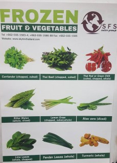 Fresh Fruits Vegetables and Frozen